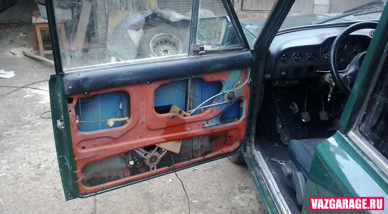 Двери со стеклами своими руками