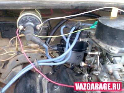 Установка электронного зажигания ВАЗ 2106