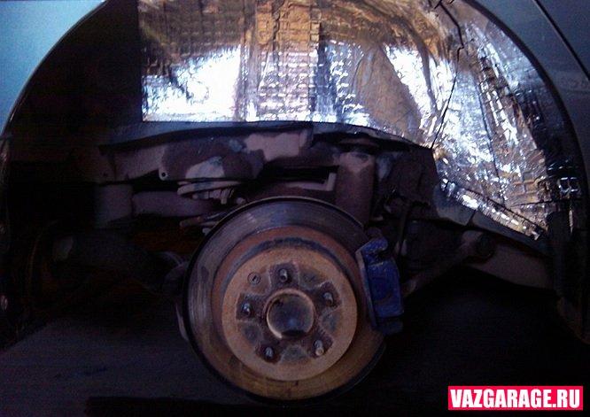Шумоизоляция колесных арок автомобиля своими руками. Советы