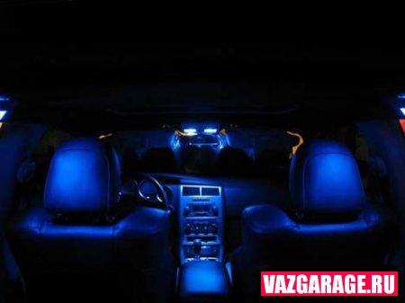 Подсветка салона автомобиля своими руками