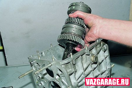 Ремонт коробки передач ВАЗ 2106