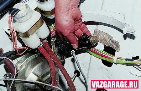 Замена ремкомплекта главного цилиндра сцепления ваз 2106